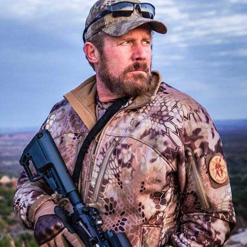 Custom WordPress web design for Marine Corps Veteran and American Hero Mark Geist, featured in the hit movie 13 Hours.