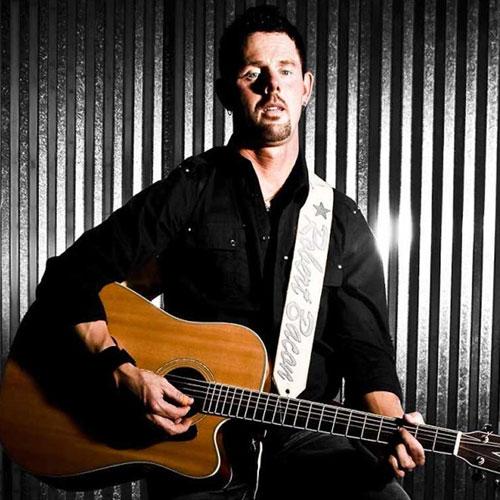 Custom WordPress web design for country music artist Robert Bacon
