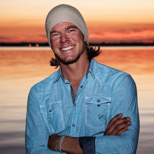 Custom WordPress web design for country music artist, Kyle Mitchell, in Panama City Beach, Florida.