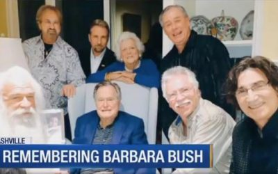 THE OAK RIDGE BOYS TO PAY RESPECTS TO FORMER FIRST LADY BARBARA BUSH
